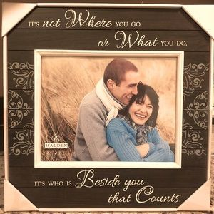 NEW Wooden Picture Frame